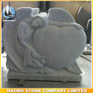 Paradiso Granite Angel Design Headstone pictures & photos