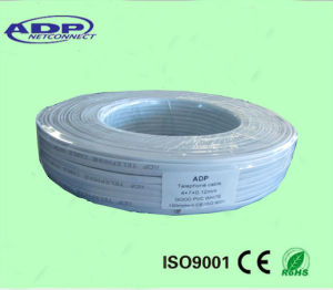 PVC Insulated&Sheathed Copper Wire Rvv Flexible Flat Cable pictures & photos