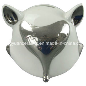 Lovely Gift of Fox Shape Money Bank for Home Decoration pictures & photos