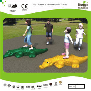 Kaiqi Cute and Colourful Crocodile Toy and Ornament for Children′s Playground (KQ50143A) pictures & photos