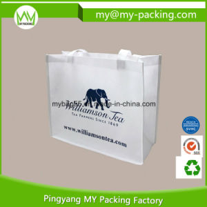 Custom Logo Print PP Shopper Promotional Nonwoven Bag pictures & photos
