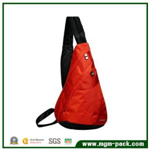 Fashion Orange Triangle Single Strap Shoulder Backpack for Travel pictures & photos