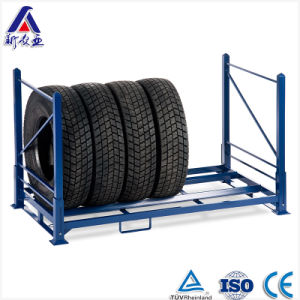 Heavy Loading Collapsible Tire Storage Rack pictures & photos