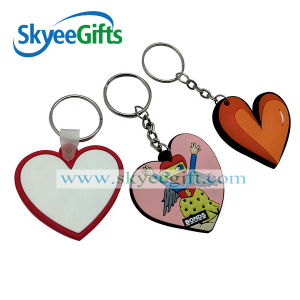 Custom 2D Soft PVC Keychain, Cheap Bulk 3D Rubber Key Rings, Promotion Plastic Keychain pictures & photos