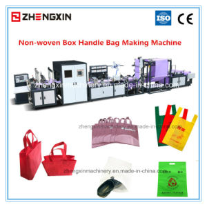 Non Woven Bag Making Machine for Handle Bags (ZXL-E700) pictures & photos