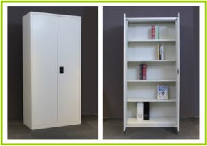 2 Door 4 Shelves Steel File Cabinet pictures & photos