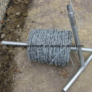 Heavily Galvanized Double Twisted Barbed Wire pictures & photos