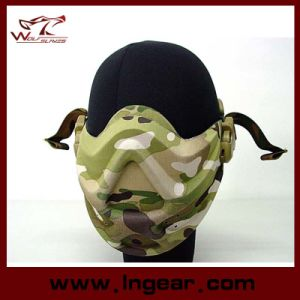 Tactical Army Light Weight Neoprene Hard Foam Half Face Mask pictures & photos