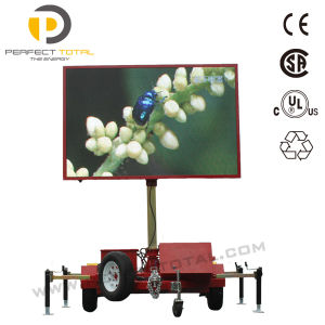 Outdoor Large LED Display Billboard Screen Advertising Trailer