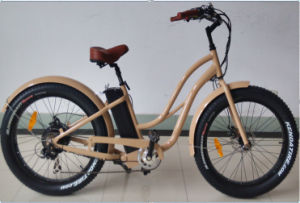 2017 Electric Unfolding Bicycles Step Through Kids Electric Bike pictures & photos