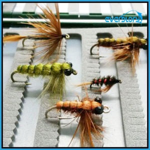 Handmade and Delicate Process Fly Fishing Flies pictures & photos