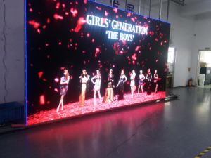 P4.81 Indoor HD LED Display Die Cast Panel 500X1000mm for Rental Use or Fixed Installation pictures & photos