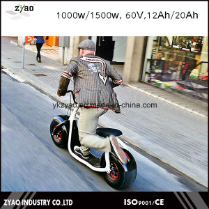 Popular City 2 Wheels Electric Scooter Electric Mobility Scooter 1000 Watt Electric Scooter pictures & photos
