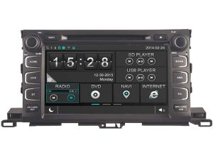 Witson Windows for Toyota Highlander 2015 Radio Navigitaon pictures & photos