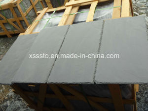 Black Slate Tiles for Roofing, Black Slate Roofing Tiles pictures & photos