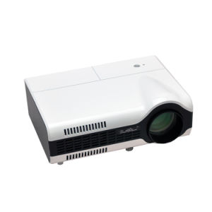 Hot Sales LED LCD Home Cinema Multimedia Projector USB VGA HDMI YPbPr S-Video