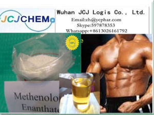 Anabolic / Androgenic Steroids Raw Methenolone Enanthate (Primobolan Depot) for Bodybuilding pictures & photos