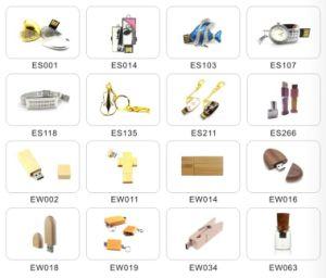 Leather USB Flash Drive, Pen Driver for Promotion (EL003) pictures & photos
