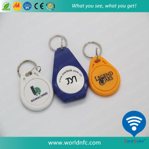 125kHz T5577 ABS/Silicone RFID Keyfob, Key Tag pictures & photos