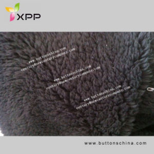 Dyed Polyester Polar Fleece Bonded with Polyester Sherpa for Blanket pictures & photos