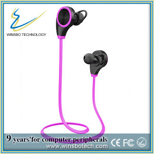 Latest Bluetooth 4.0 Wireless Sweatproof Running Stereo Earphone (rose)