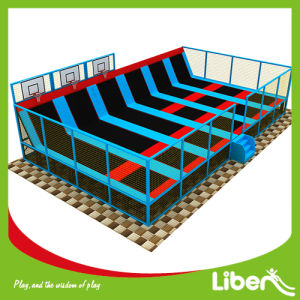 Producer Trampoline Basketball Court with Fencing pictures & photos