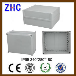125*125*75 IP65 Water Resistant Electronic DIN Rail Enclosure pictures & photos