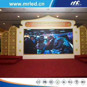 P12.5mm Full Color Perimeter LED Display Wall, Indoor LED Rental Display pictures & photos