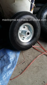 China 410/350-4 pneumatic Rubber Wheel pictures & photos
