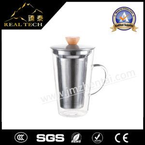 Wholesale Handmade Double Wall Clear Coffee Tea Whisky Glass Cup
