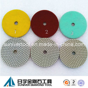 Save Your Cost 3 Step Dry Polishing Pads pictures & photos