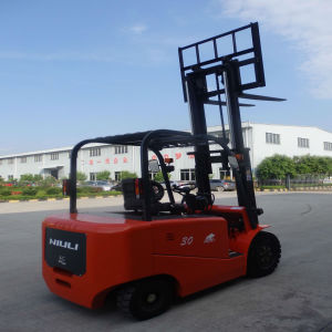 3ton Eletric Forklift with Certificates and Top Quality pictures & photos