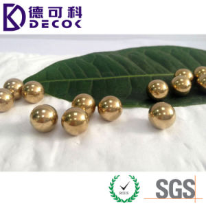 12mm 0.5mm 2mm Solid 99.99% Pure Copper Beads Ball pictures & photos