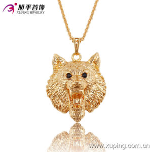 Fashion CZ Elegant 18k Gold-Plated Animals Shape Series Imitation Jewelry Necklace Pendant-32522 pictures & photos