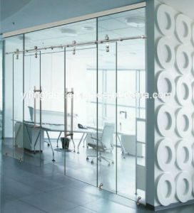 Clear Safety Toughened Partion Glass pictures & photos