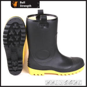 PVC Waterproof Safety Boot with Steel Toe (SN5122) pictures & photos