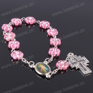China Manufacturer Cheap Catholic Rosary Ladies Bracelet Models