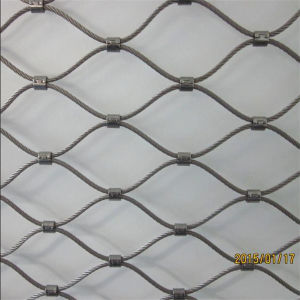 Stainless Steel Ferruled Aviary Wire Rope Cable Zoo Mesh pictures & photos