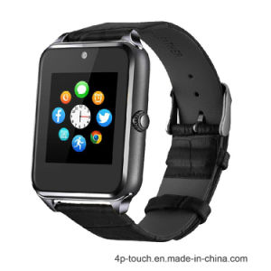 2017 New Stainless Steel Smart Watch with SIM Card Slot pictures & photos