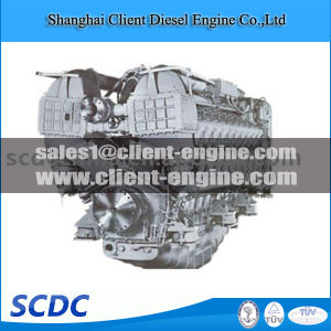 Brand New High Quality Mtu4000 Diesel Engine pictures & photos