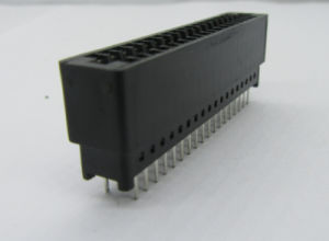 2.54mm Card Edge Connector, Straight DIP Available for Different Poles pictures & photos