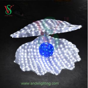 LED 3D Shell Light with Pearl Light for Decoration pictures & photos