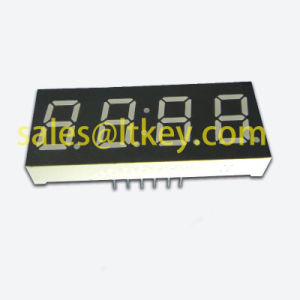 0.4 Inch 4 Digit 7 Segment LED Clock Display pictures & photos