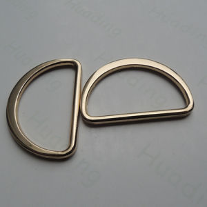 Fashion Metal D-Ring Buckle for Decoration pictures & photos