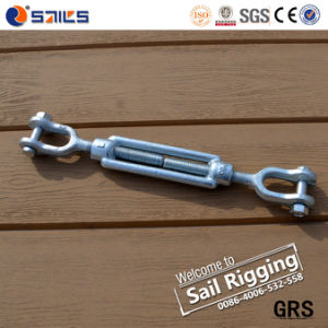 DIN1480 Zinc-Plated Jaw End Turnbuckle pictures & photos