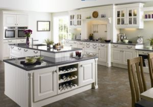 Wood Kitchen Cabinet Oak Kitchen Furniture #1728 pictures & photos