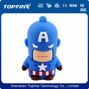 New Arrival Cartoon Captain America Shapes USB Flash Drive in Customed Capacity pictures & photos