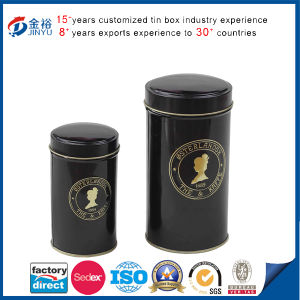 Wholesale Custom Empty Round Can Tea Metal Tin Boxes pictures & photos