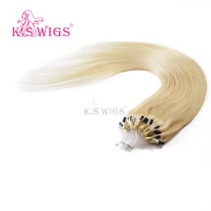 Blonde Color Remy Hair Extension Micro Ring Hair Extension pictures & photos