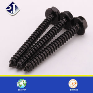 Self Tapping Screw Black Finished pictures & photos